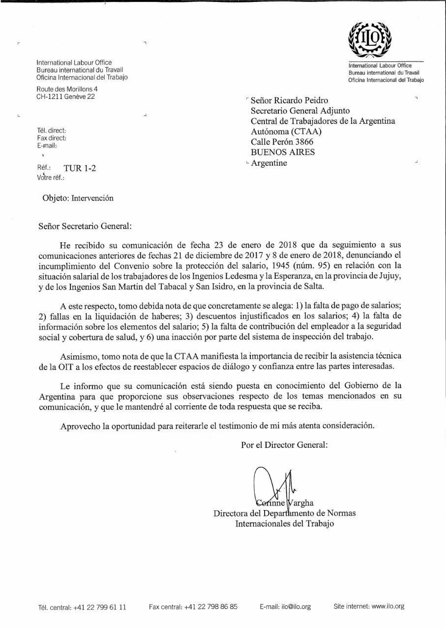 Argentina. Resumen gremial y social. INTI: la policía intentó ...