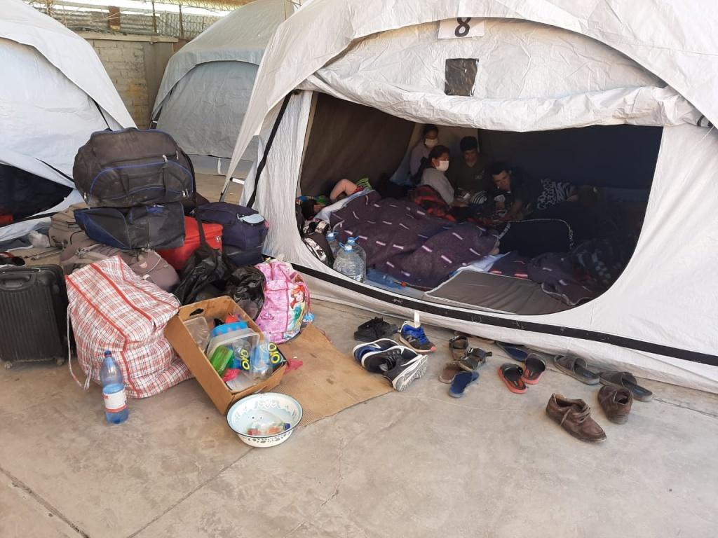 Campamento de Pisiga: amenaza latente de represión a migrantes
