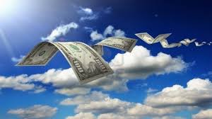 Resultado de imagen para dolares que vuelan