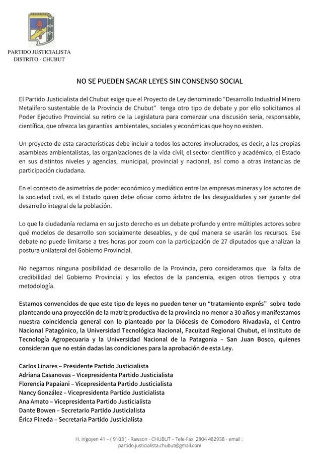 Megaminería corrupción y lobby en Chubut2
